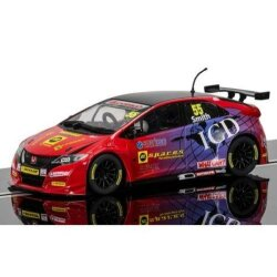 Honda Civic Type R Jeff Smith  BTTC  Scalextric C3860