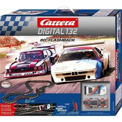 Grundpackung 80´ Flashback Carrera Digital 30197