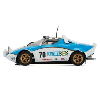 Lancia Stratos limited 60 years Scalextric C3827A