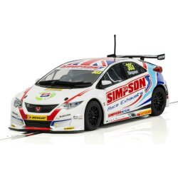Honda Civic Type R NGTC  BTCC 2017 Matt Simpson