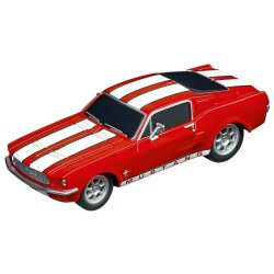 Ford Mustang 67 Racing Red