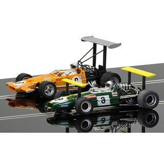 Winged Legends Brabham BT26A/2 + McLaren M7C No.6 car Carrera Digital 132
