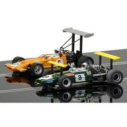 Winged Legends Brabham BT26A/2 + McLaren M7C No.6 car...