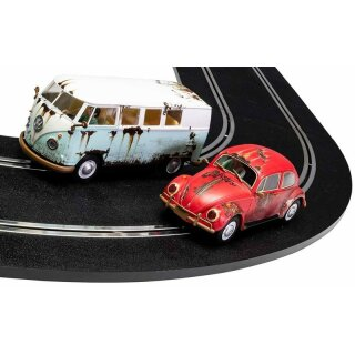 VW Rusty Rides Volkswagen Beetle & T1B Camper Van - Limited Edition  Scalextric C3966A