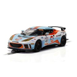 Lotus Evora Gulf edition Scalextric c4183