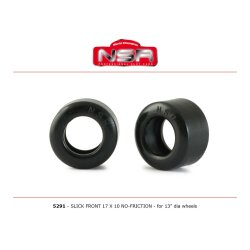 Reifen Slick Front 17x10 low profile no friction (4) für...
