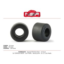 Reifen Formula Rear 19,5x13 low Profile (4) Racing tires...