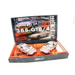 Team set 09 Ferrari 365 GTB Daytona + Le Mans 1973 Team...