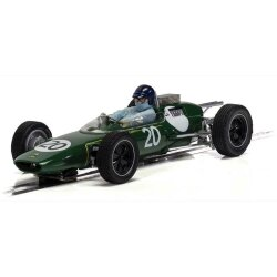 Lotus 25 British GP 1962 Jim Clark Scalextric c4195