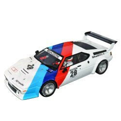 BMW M1 Pro Car Serie 1980 Regazzoni No.28 Carrera Digital...
