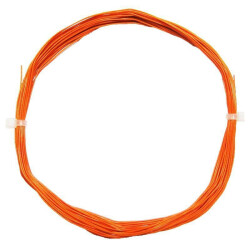 Litze flexibel 0,5mm/0,04mm2 orange 50cm