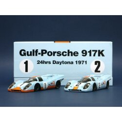 Porsche 917K Daytona Gulf 1971 limited edition twinset