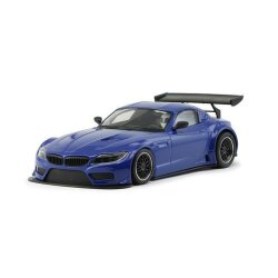BMW Z4 GT3 Testcar blue