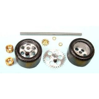 Antriebsset RE KIT AW w/Trued Rubbers on 16_ NINCO  NSR9103