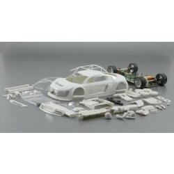 Audi R8 LMS white kit  sc7044 Scaleauto