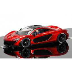 Mc Laren P1 orange Scalextric C3643