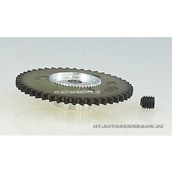 Spurzahnrad 46Z f.3mm M50 Racing Plastik m.Alunabe...