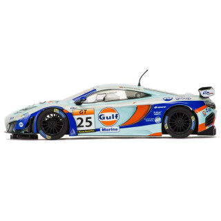 mclaren 12c gt3 gulf #25 2014 carrera digital 132, 89,00 €