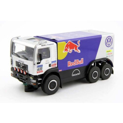 Truck MAN Raid Racing Red Bull 3 Achser Carrera Digital